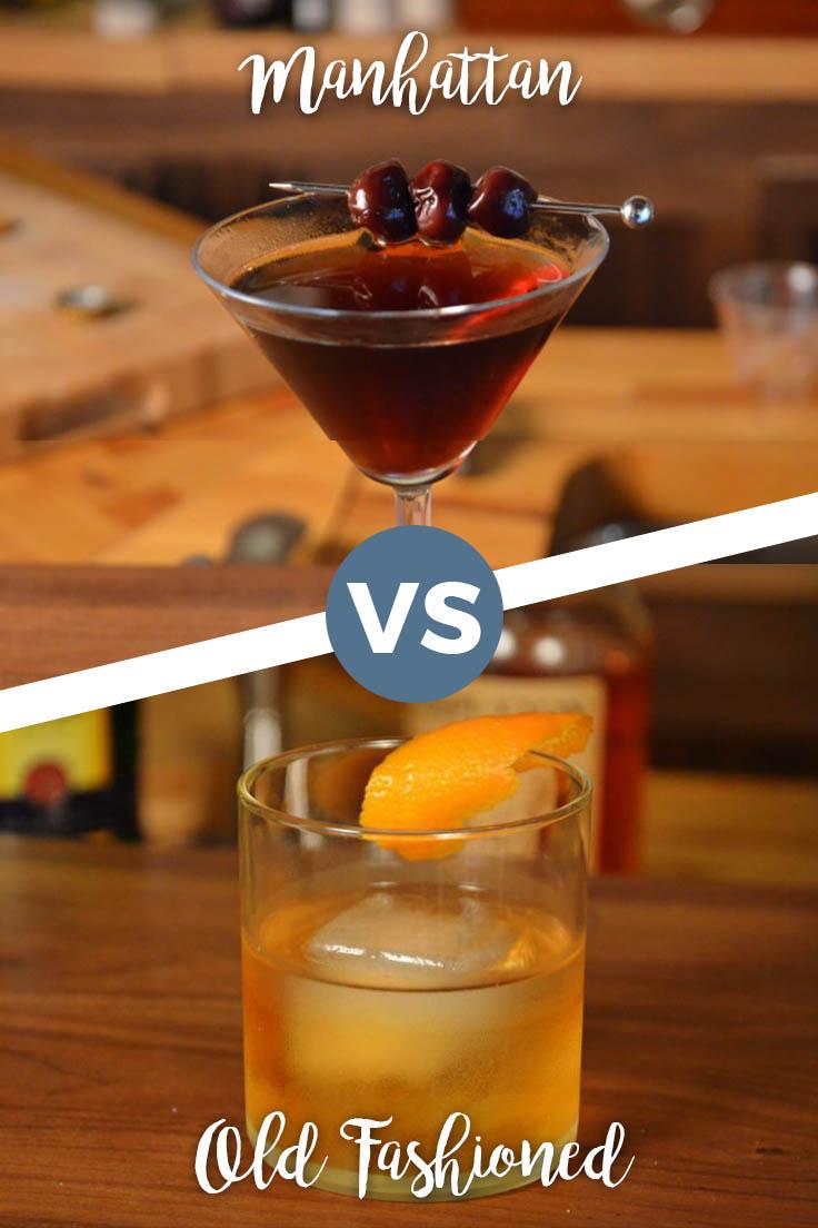 Manhattan vs Old Fashioned