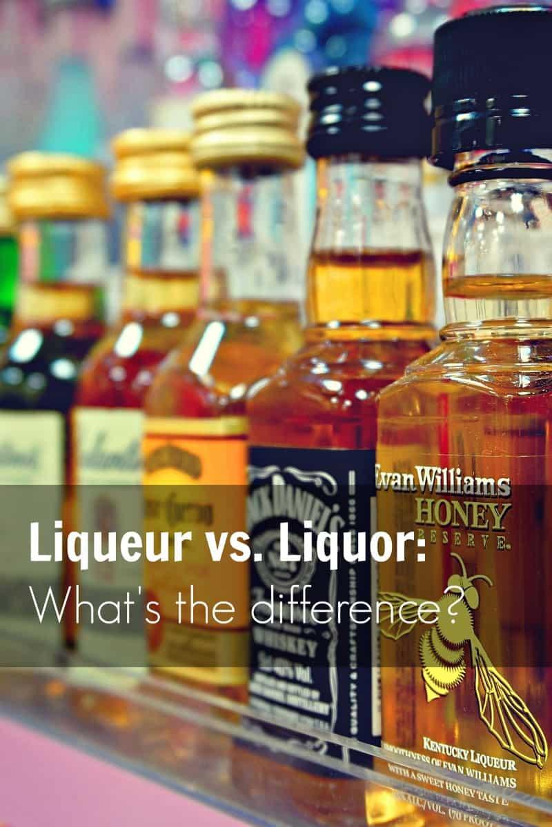 PI - Liquor vs Liqueur