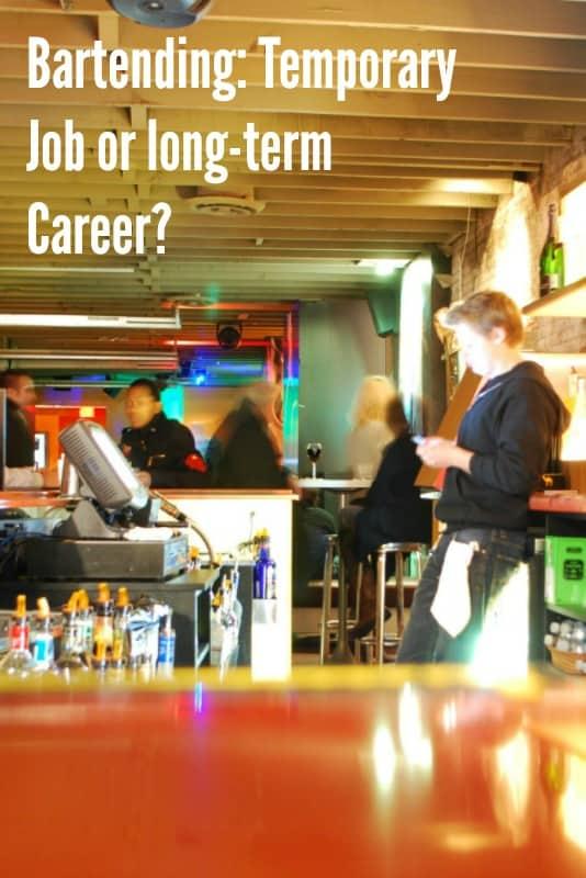 Can Bartending Be A Lifelong Career?