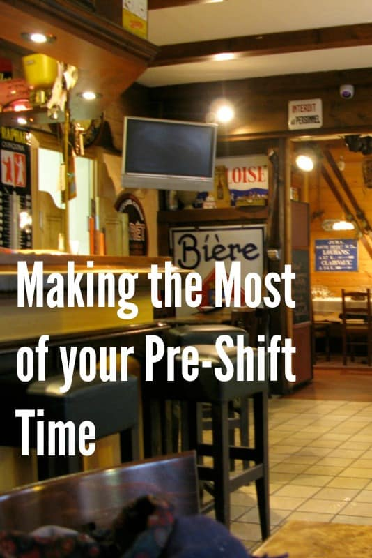 Five Ways to Make The Most of Your Pre-Shift Time