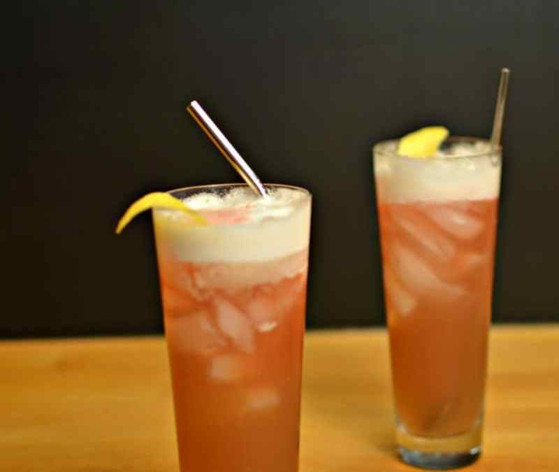 Raspberry Whiskey Sour