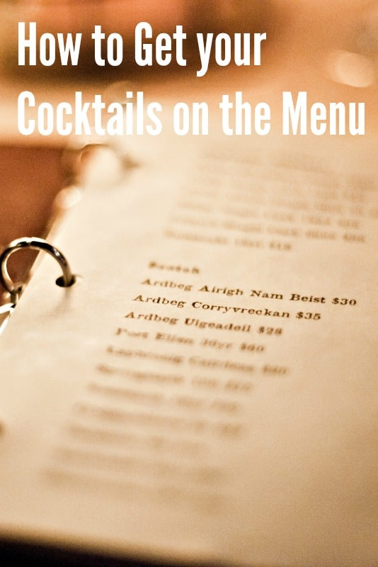 How can I get my Manager / Colleagues to listen to my Cocktail Ideas?