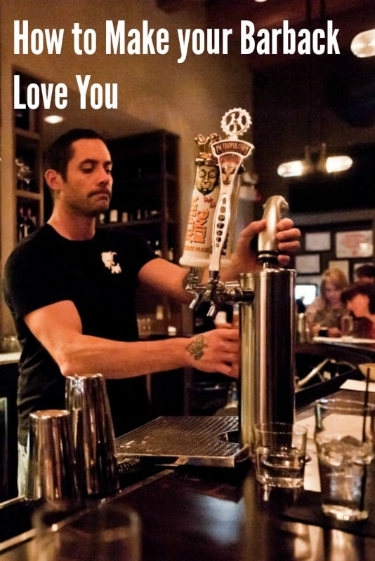 5 Ways to Get Your Barback to Love You