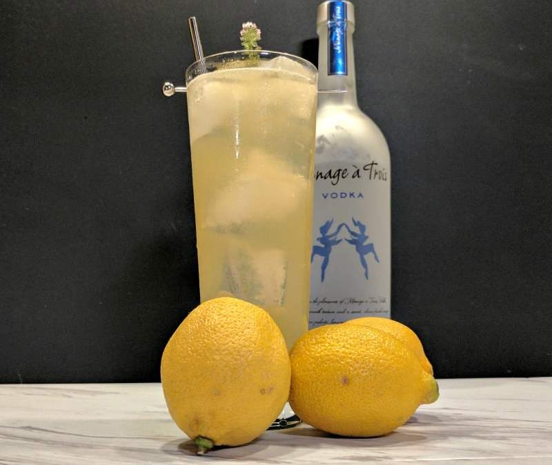 Just in Thyme Lemonade