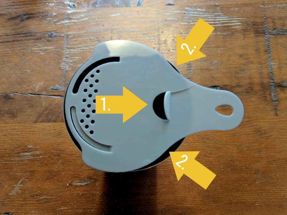Making the Hawthorne Strainer more Comfortable