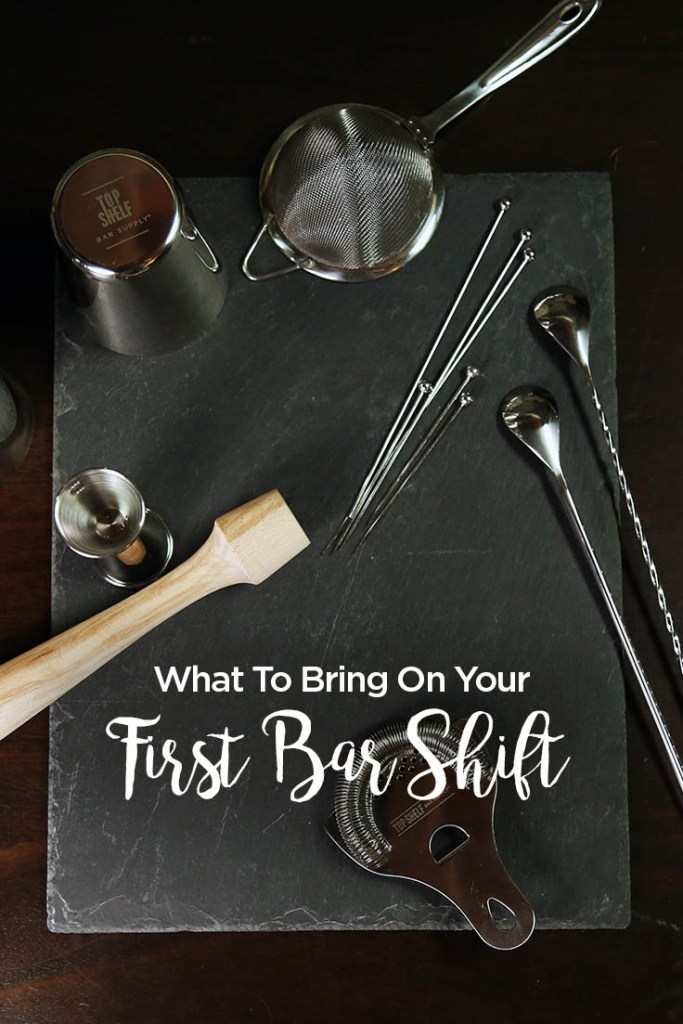 What to Bring to your First Bartending Shift