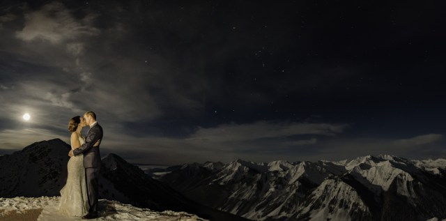 wedding-kicking-horse-night-pano