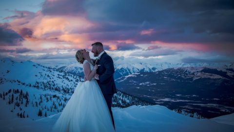 Leona & Rob Kicking Horse Mountain