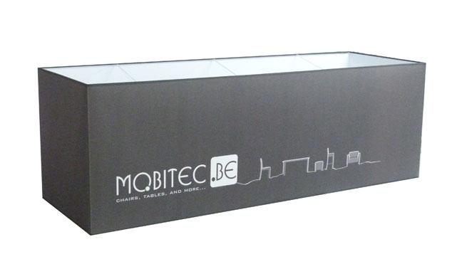 Abat-jour rectangle imprimé sur mesure