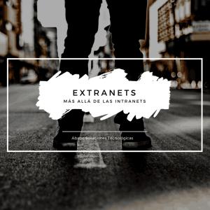 Extranets (mas allá de las intranets)