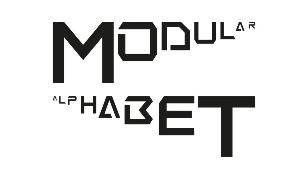 Modular alphabet