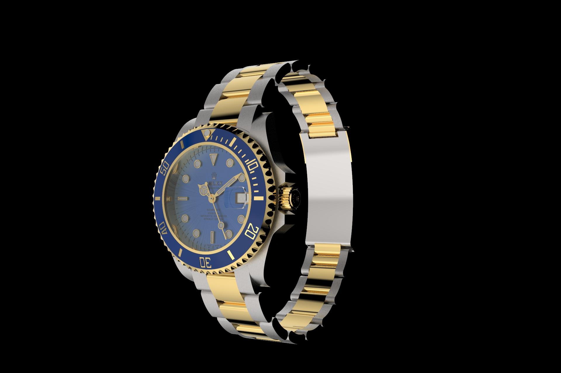 Rolex-Submariner-Modellazione3D