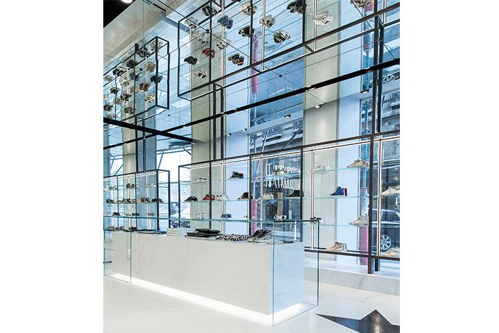 Golden Goose shop, Paris | Luciano Abbaterusso
