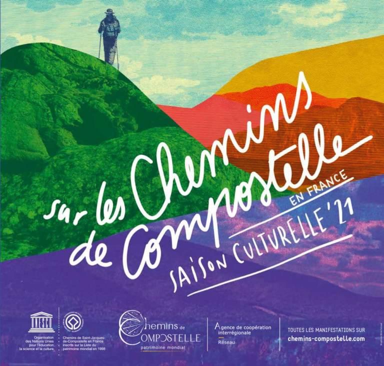 Read more about the article Sur les chemins de Compostelle en France saison culturelle 2021