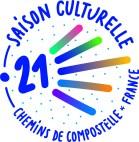 logo de la saison culturelle chemin de compostelle