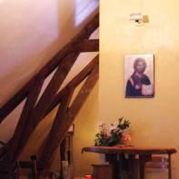 L'oratoire à Mambré