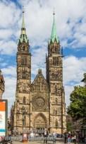 Lorenz-Kirche am Lorenzplatz, Nürnberg
