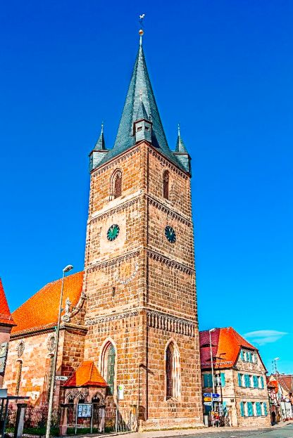 Kirche Peter und Paul, Erlangen-Bruck