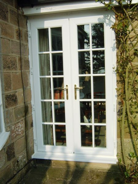 classic french doors