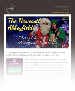 1215 christmas message newsletter