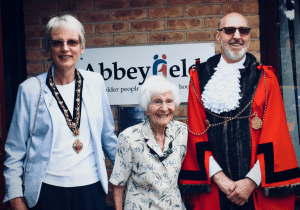 Lord Mayor Newcastle visits Castle Farm