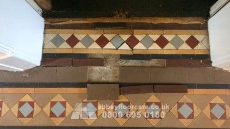 victorian minton tile repair