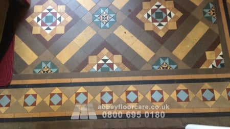 MInton tile cleaning walsall
