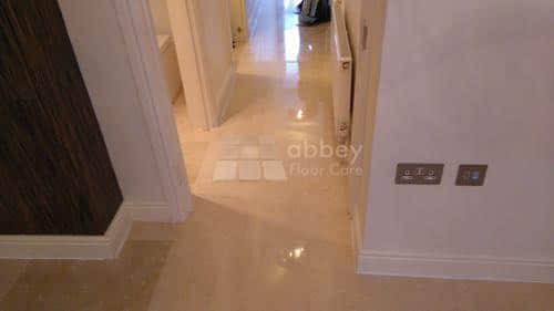 marble polished hallway