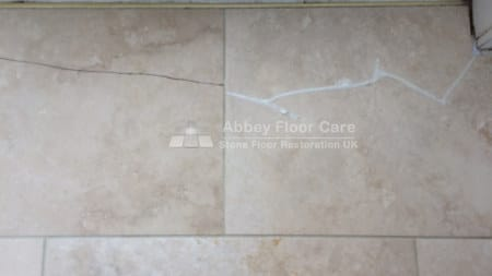 cleaning travertine tiles abbots bromley staffordshire Abbey Floor Care 0800 695 0180