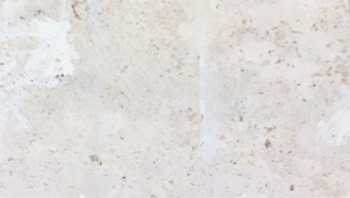 Back face of filled travertine tile