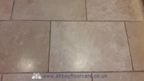 travertine dirty grout alton hampshire abbey floor care