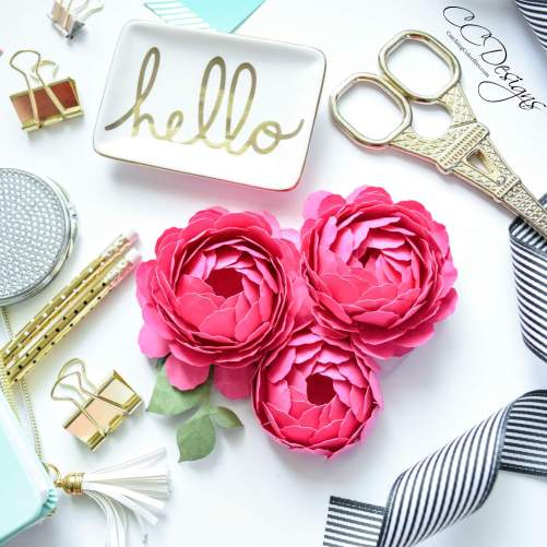 paper flower peony  how to make paper peonies