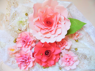 giant paper flower templats- charlotte style paper flowers- diy paper flowers