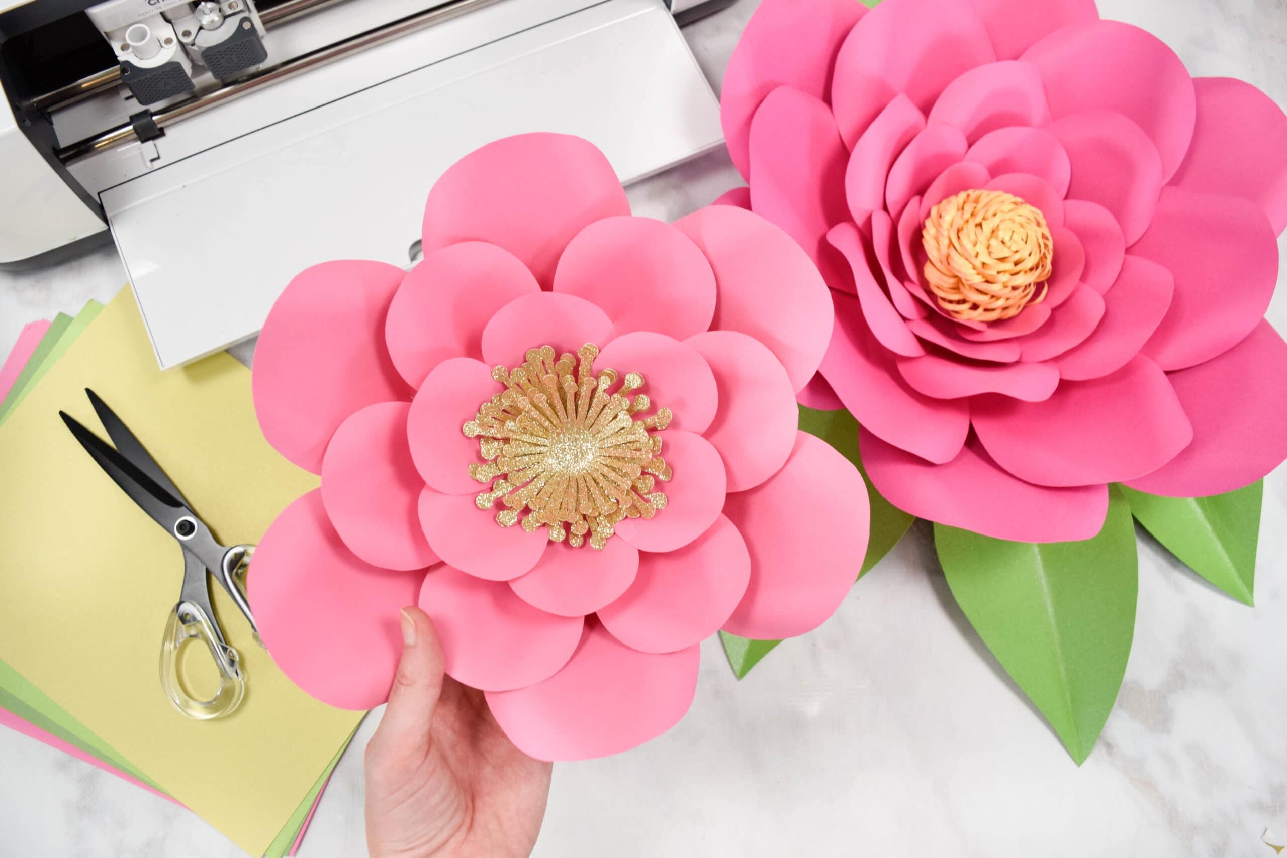 Easy Method When Building any DIY Giant Paper Flower