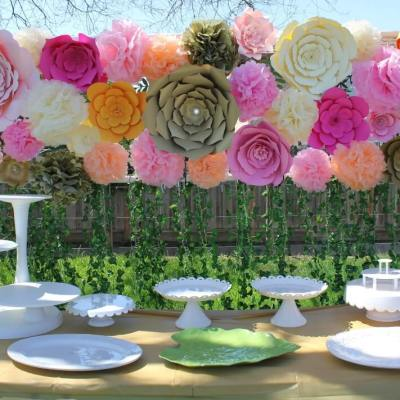 Top Favorite Giant Paper Flower Backdrops