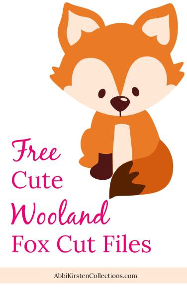 Free cute fox cut files.