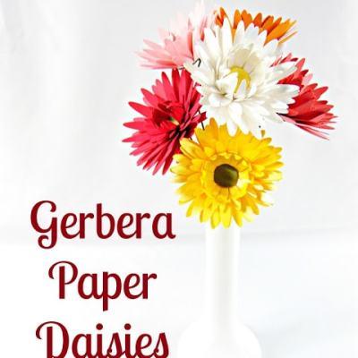 Freebie Friday Daisy Paper Flower Printable