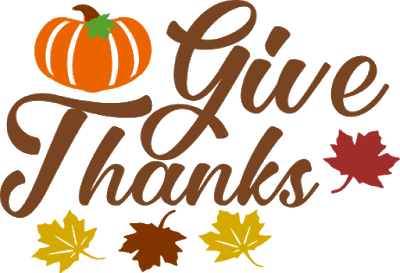 Free Give Thanks SVG Cut Files
