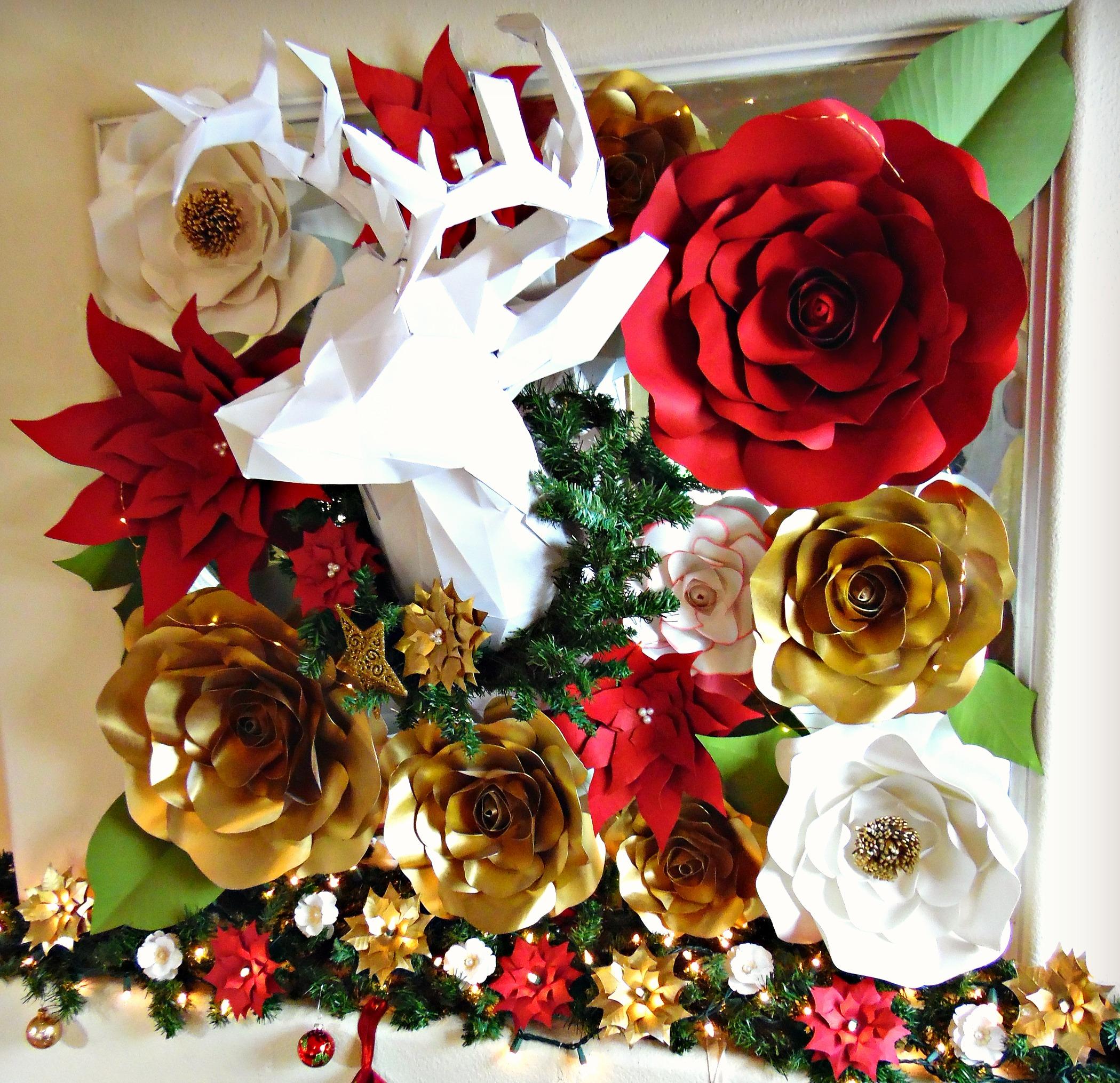 DIY Paper Christmas Home Decor