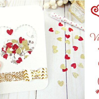 DIY Valentine's Day Confetti Card