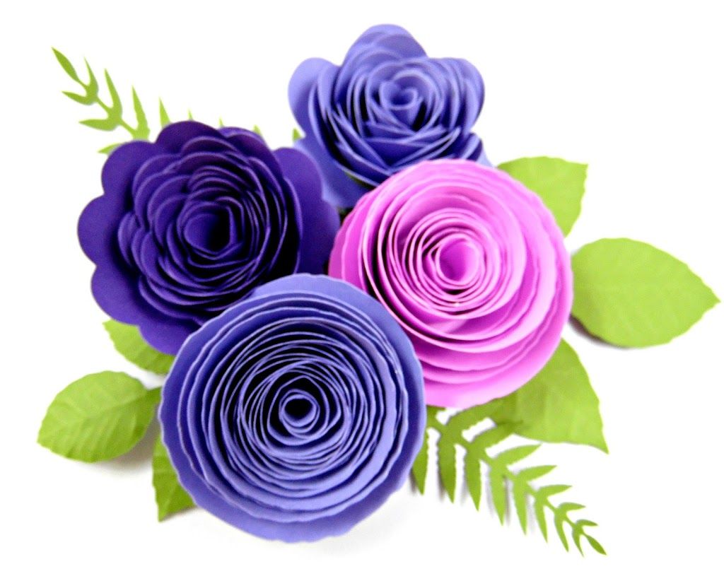 rolled paper roses template - paper flower centers 5 ways to make centers for giant flowers