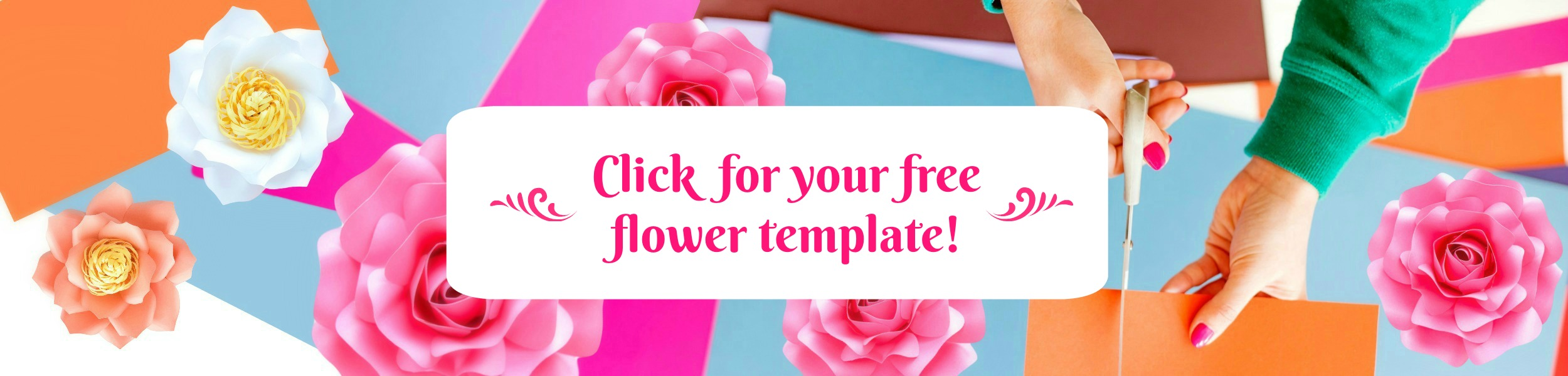 Abbi kirsten collections diy paper flower templates projects video banner free flower templates izmirmasajfo