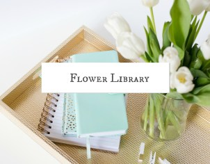 Paper flower library