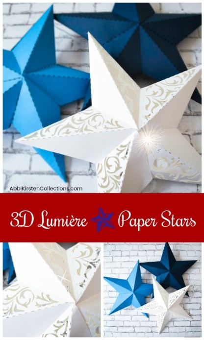 3d Paper Star Template Paper Star Instructions And Free Template