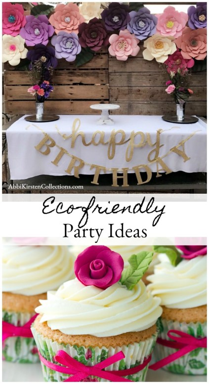Eco-Friendly Party Ideas