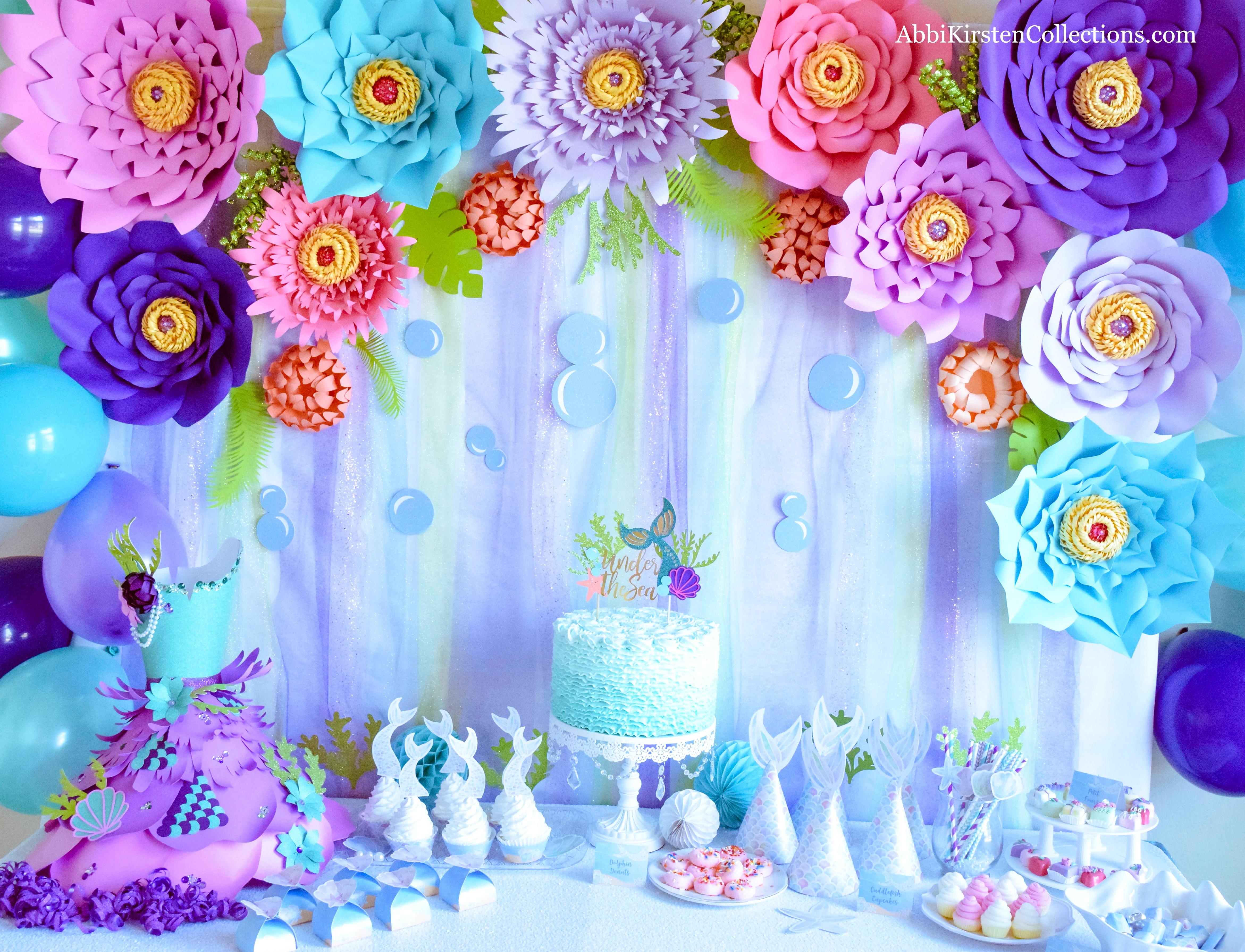 Under the Sea Mermaid Paradise Birthday Party