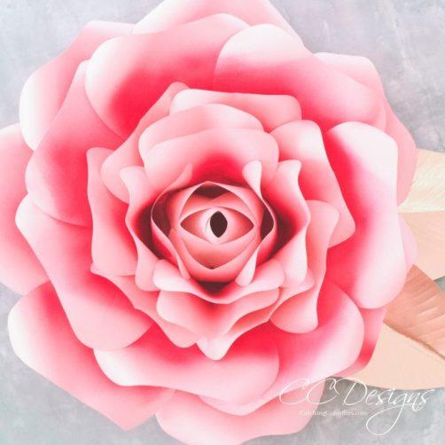 Diy paper flower alora garden rose tutorial tutorial video diy paper flower alora garden rose mightylinksfo