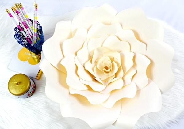 Bella Rose DIY Paper Flower Tutorial - DIY Paper Rose Tutorial