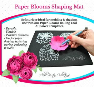 Paper Blooms Shaping Mat and Tool Set