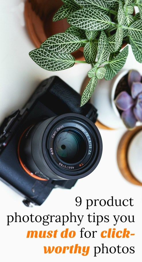 how to take great photos for your handmade products. Beginner's guide to photography.